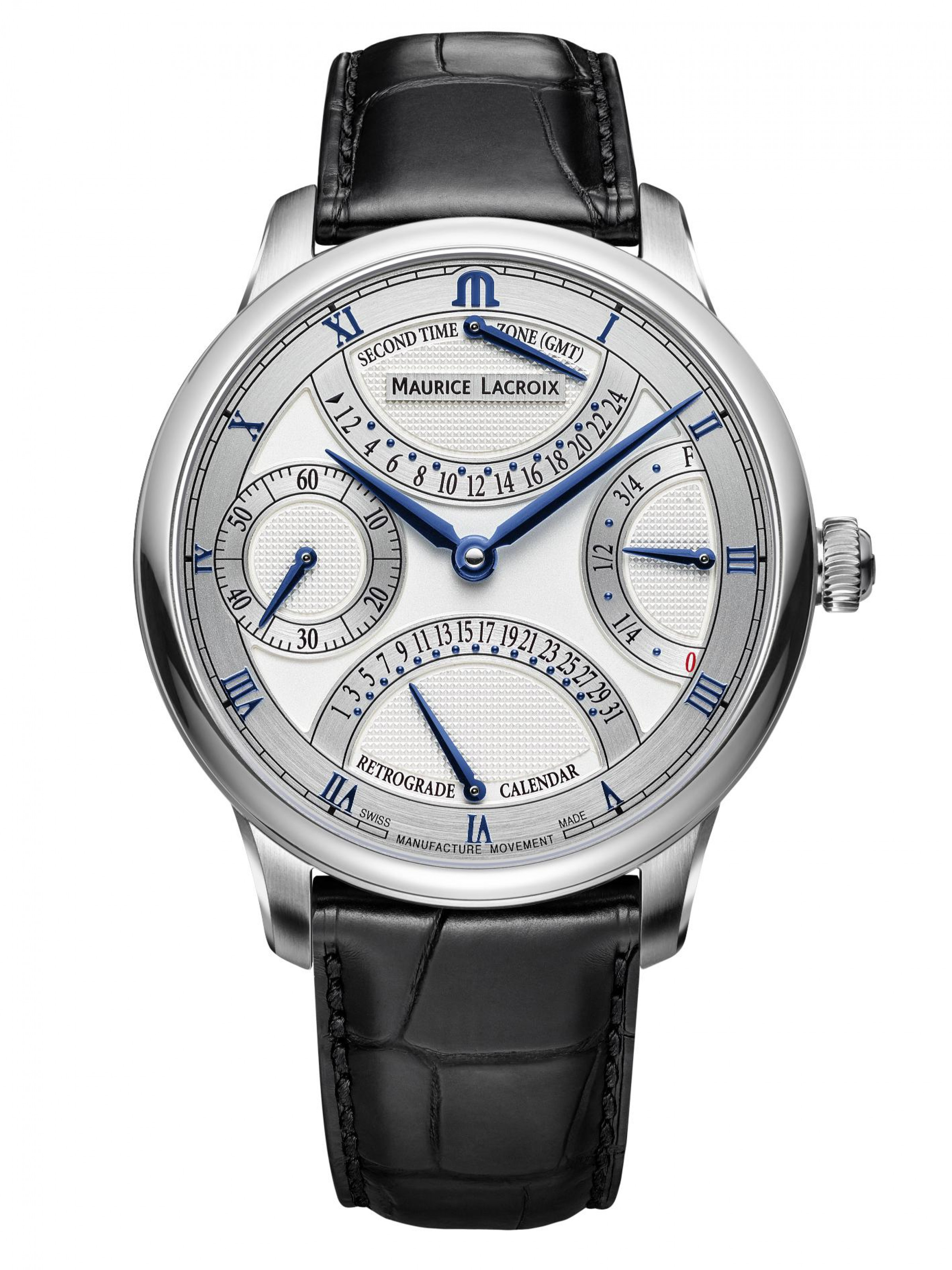 Maurice Lacroix Masterpiece Masterpiece Double Retrograde MP6578-SS001-131-1