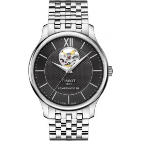 TISSOT Tradition Powermatic 80 Open Heart T063.907.11.058.00