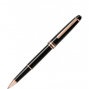 Montblanc Meisterstück Red Gold-Coated Classique Rollerball 112678