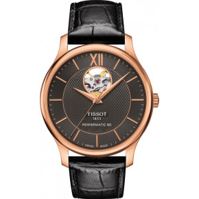 TISSOT Tradition Powermatic 80 Open Heart T063.907.36.068.00