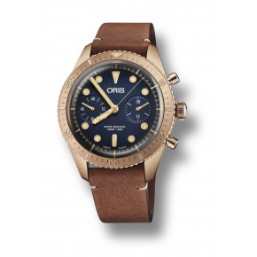 Oris Carl Brashear Chronograph Limited Edition 01 771 7744 3185-Set LS