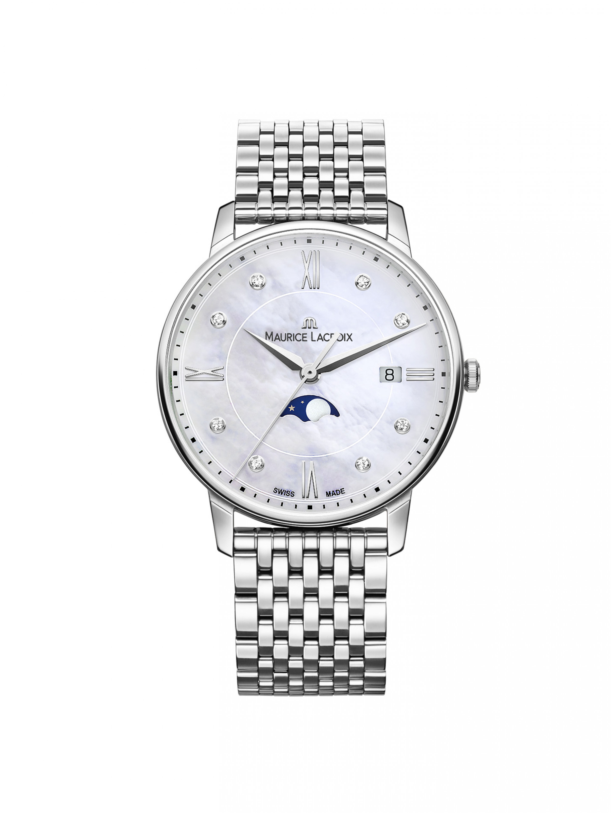 Maurice Lacroix Eliros Ladies Moonphase EL1096-SS002-170-1