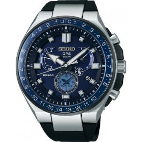 SEIKO Astron GPS Solar Dual Time Executive Sports Line SSE167J1