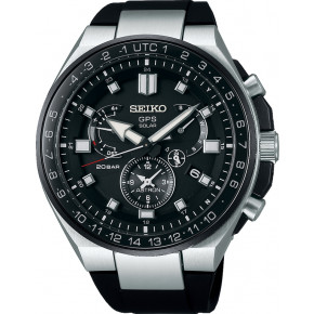 SEIKO Astron GPS Solar Dual Time Executive Sports Line SSE169J1