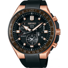 SEIKO Astron GPS Solar Dual Time Executive Sports Line SSE170J1