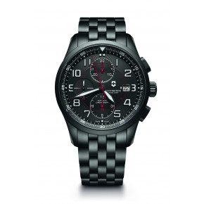 Victorinox AirBoss Mechanical Chronograph Black Edition 241741