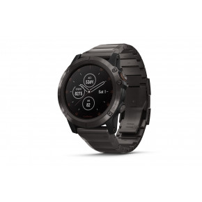 Garmin Fenix 5X Plus Saphir Smartwatch 010-01989-05