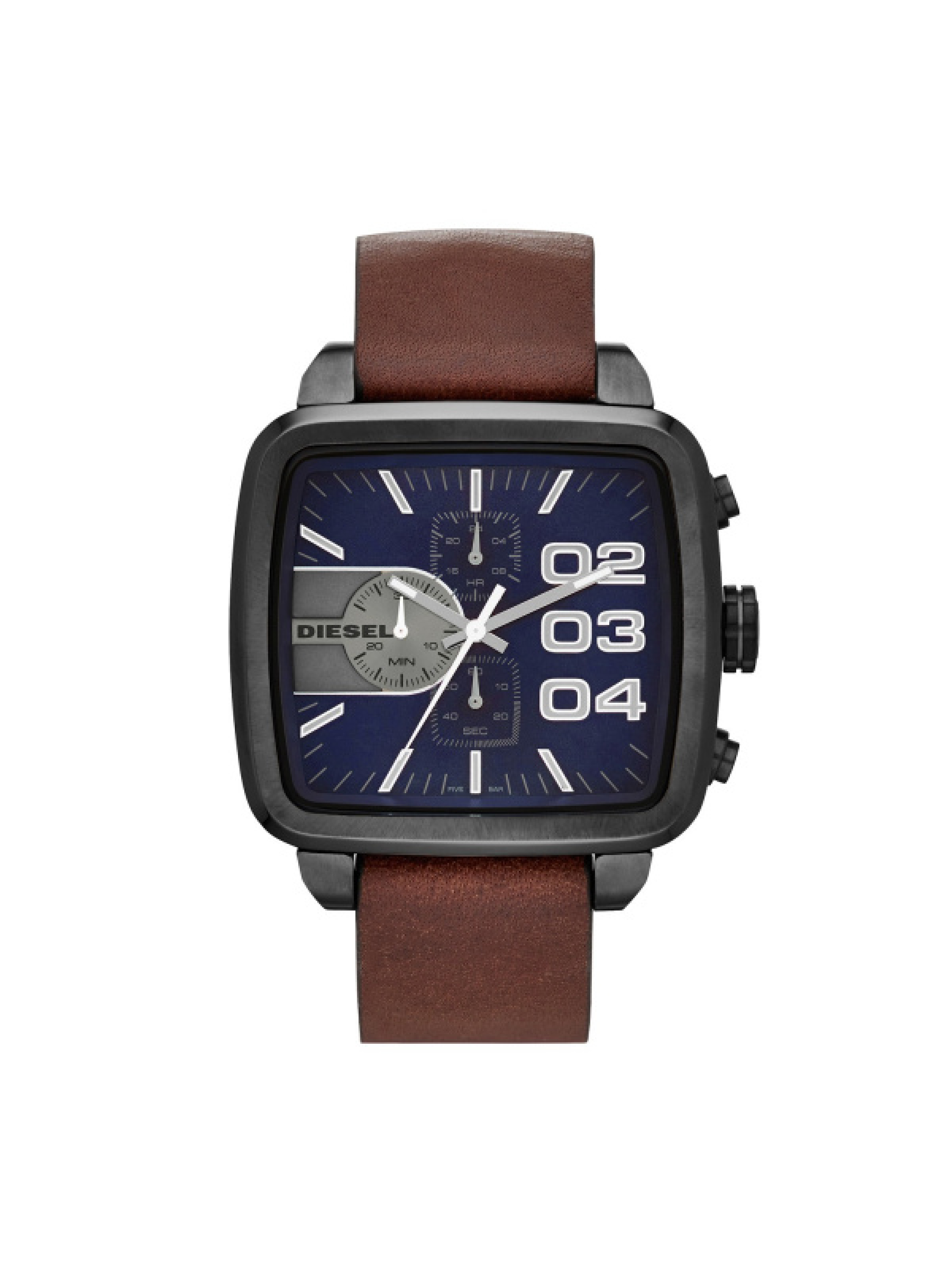 Diesel Herrenuhr Square Franchise Chronograph DZ4302
