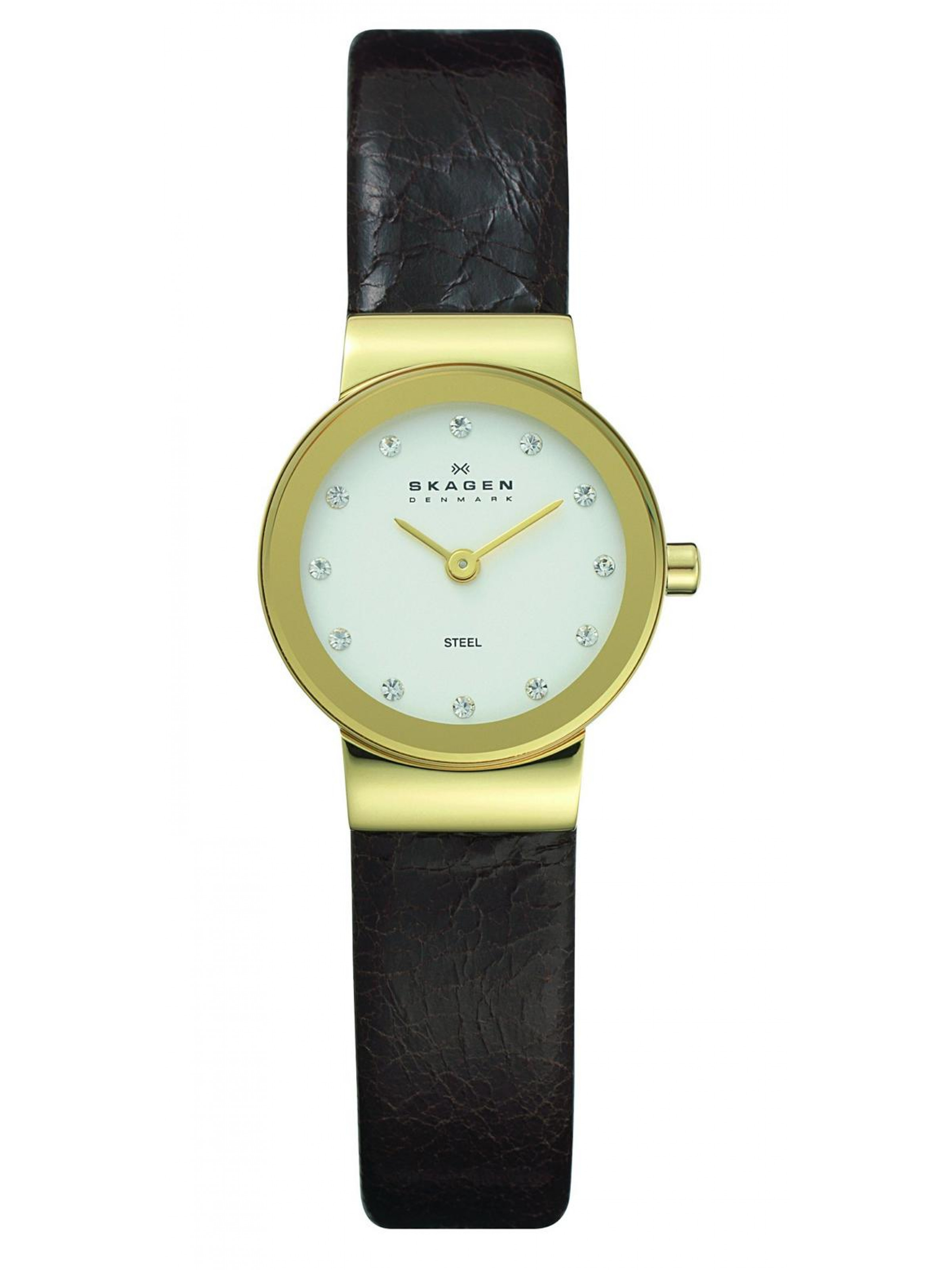 Skagen Steel 358XSGLD Watch