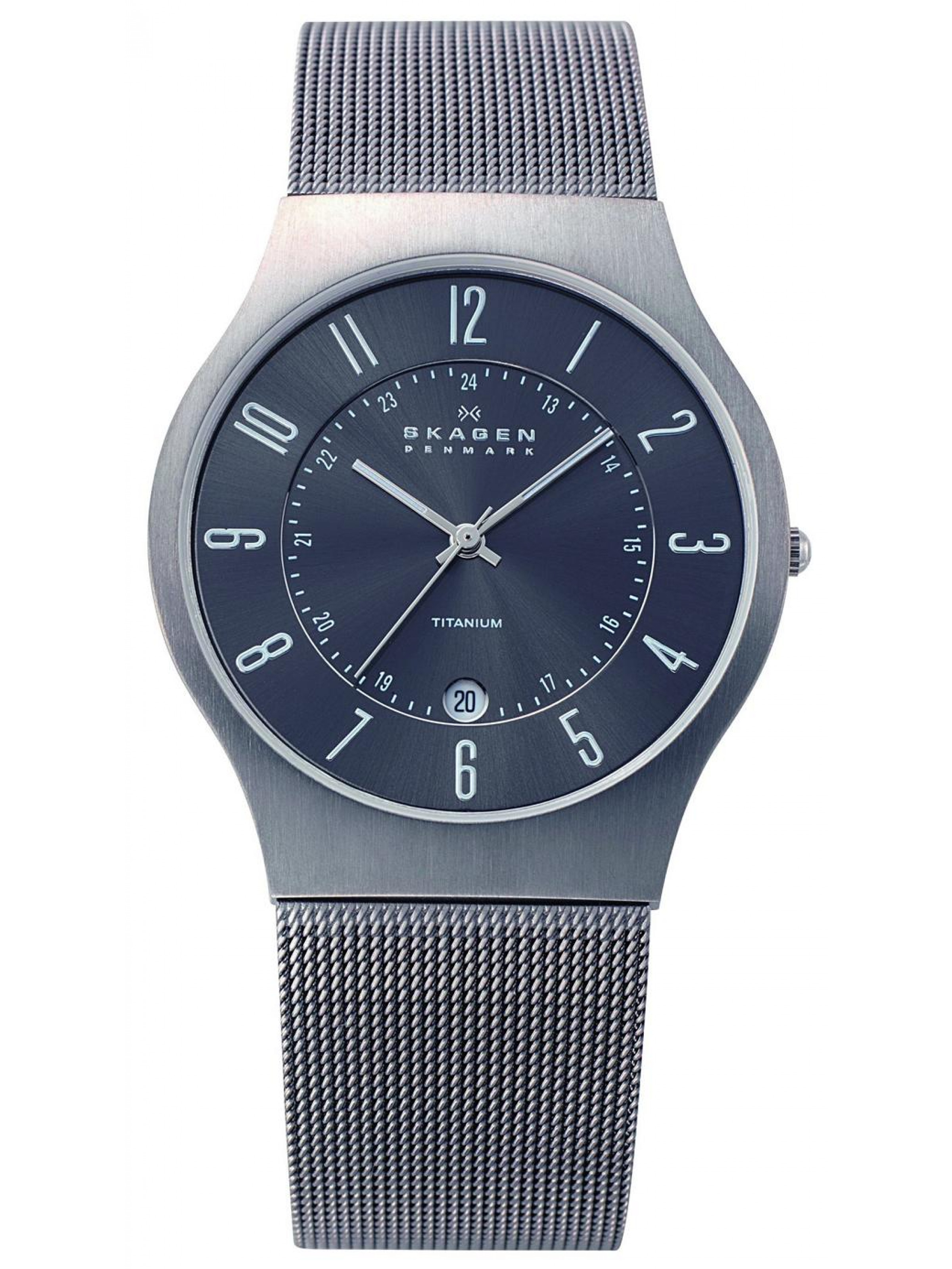 Skagen Titanium 233XLTTM Watch
