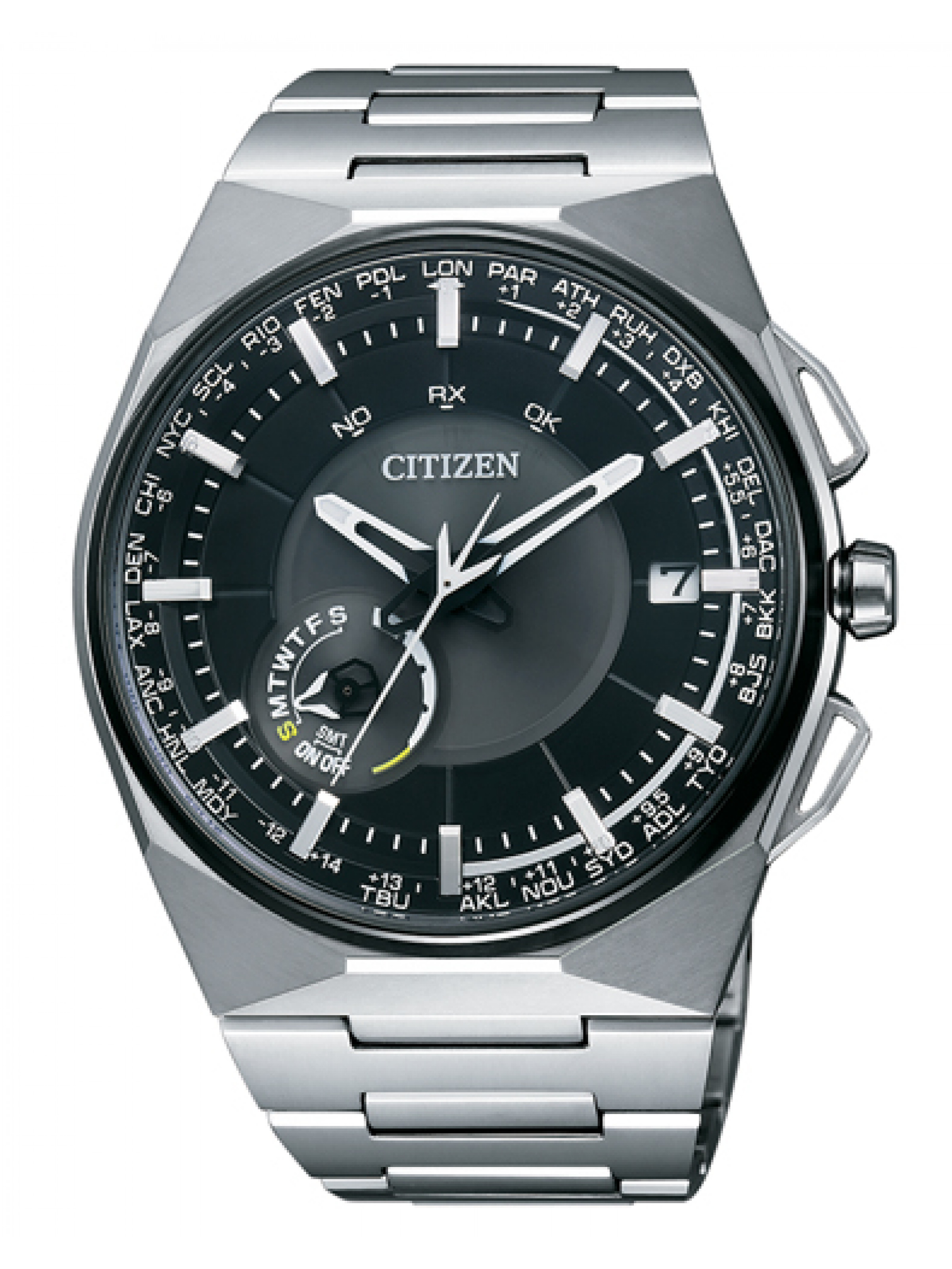 Citizen SATELLITE WAVE F100 CC2006-53E